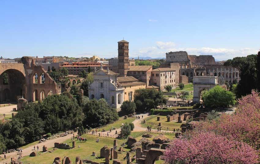 Church of Santa Francesca Romana for weddings in Rome