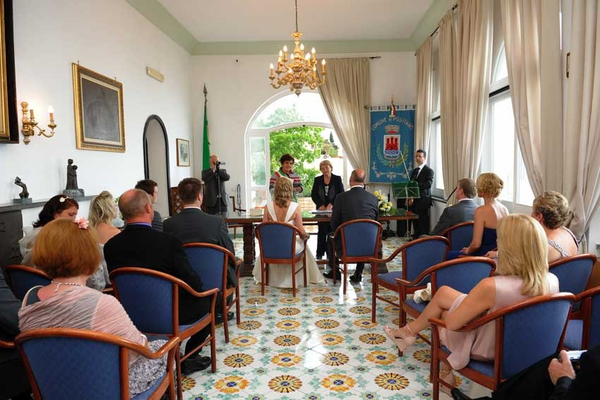 Positano Town Hall for civil weddings on the Amalfi Coast
