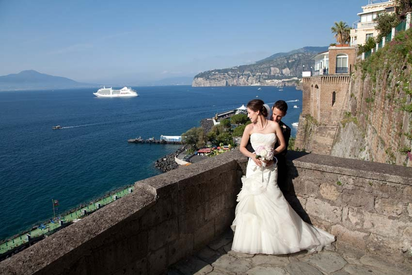 Sorrento wedding