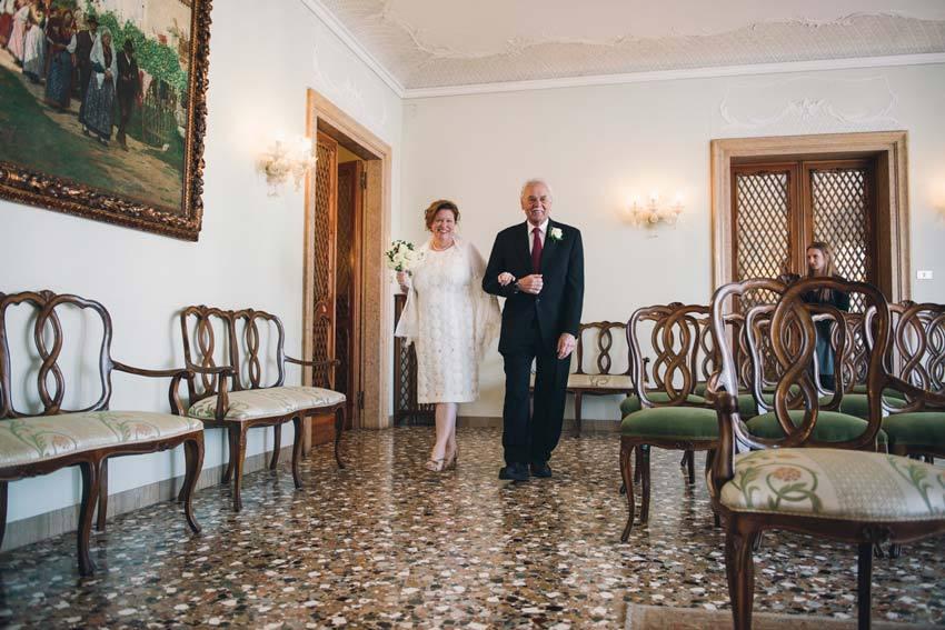 Civil ceremony in Venice Palazzo Cavalli