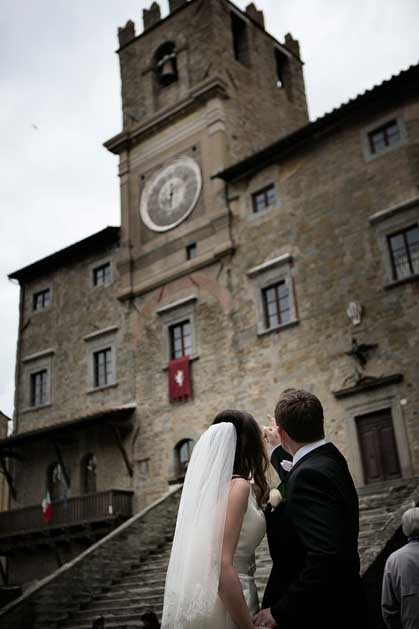 Cortona wedding in Tuscany