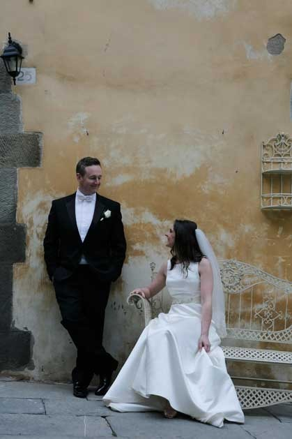 Cortona wedding in Tuscany