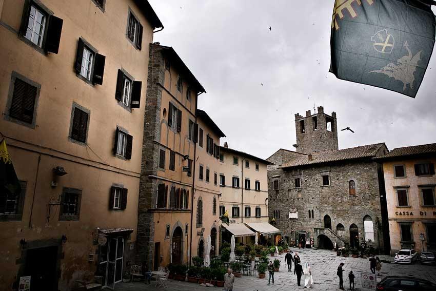 Cortona location for Tuscany weddings