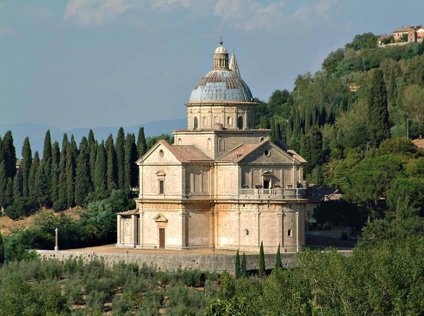 Church for catholic weddings in Cortona Tuscany