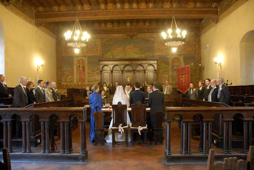 Civil wedding in Cortona Tuscany