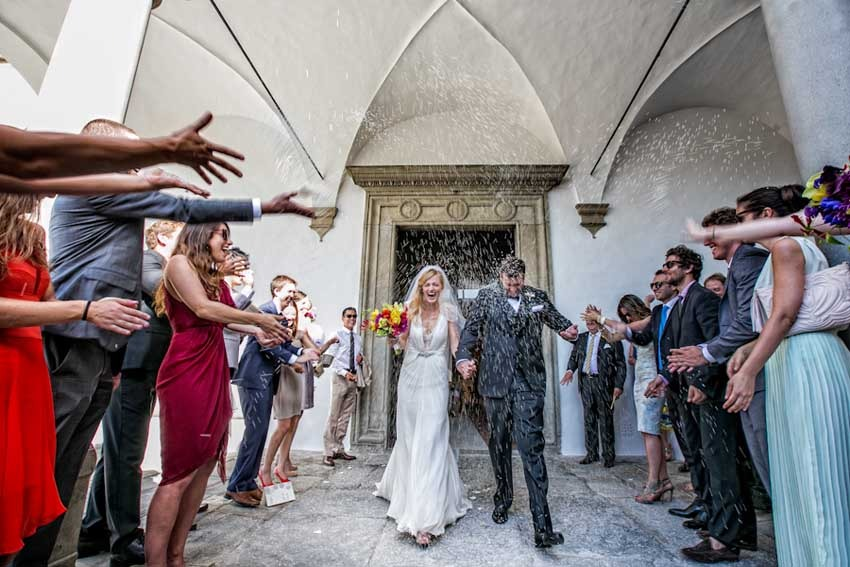 Catholic wedding in Florence