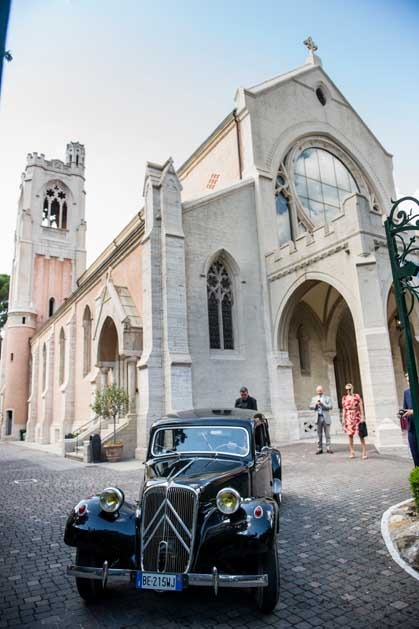 Church for protestant wedding in Florence