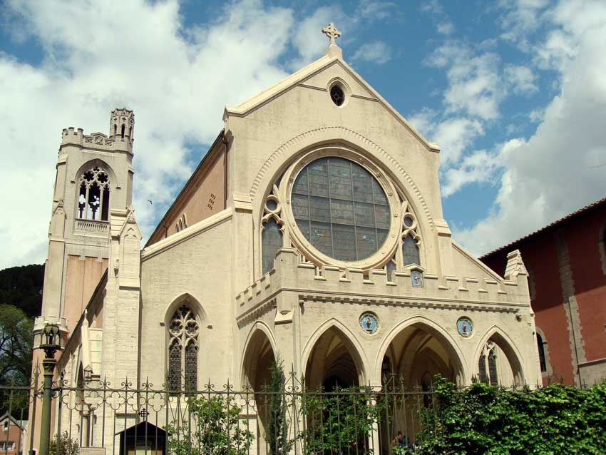 Saint James church for protestant weddings in Florence