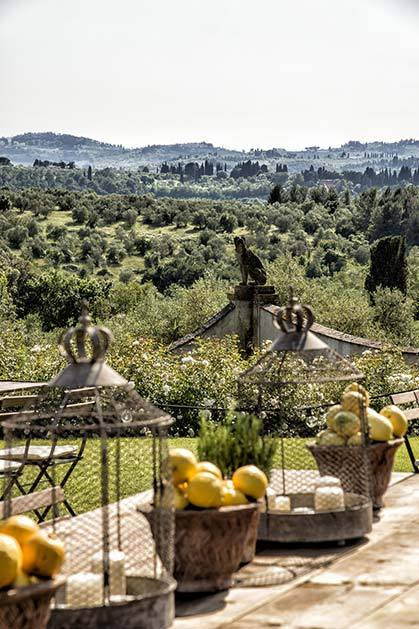 Florence Villa for elegant weddings