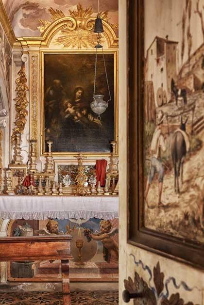 Ceremony at Villa di Lilliano in Florence