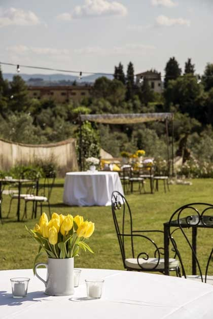 Villa di Lilliano for weddings in Florence