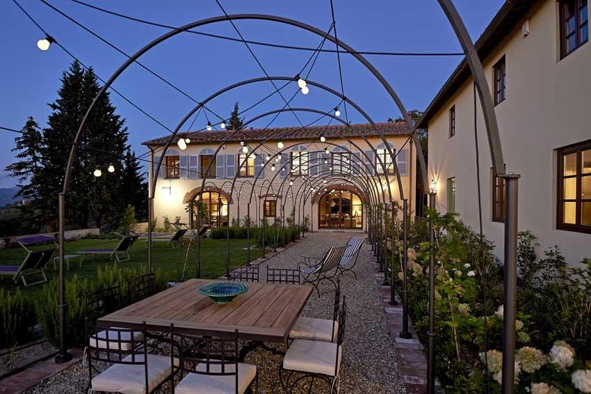 Florence wedding at Villa di Lilliano