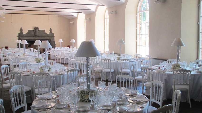 Wedding reception at Villa Montefiano near Florence