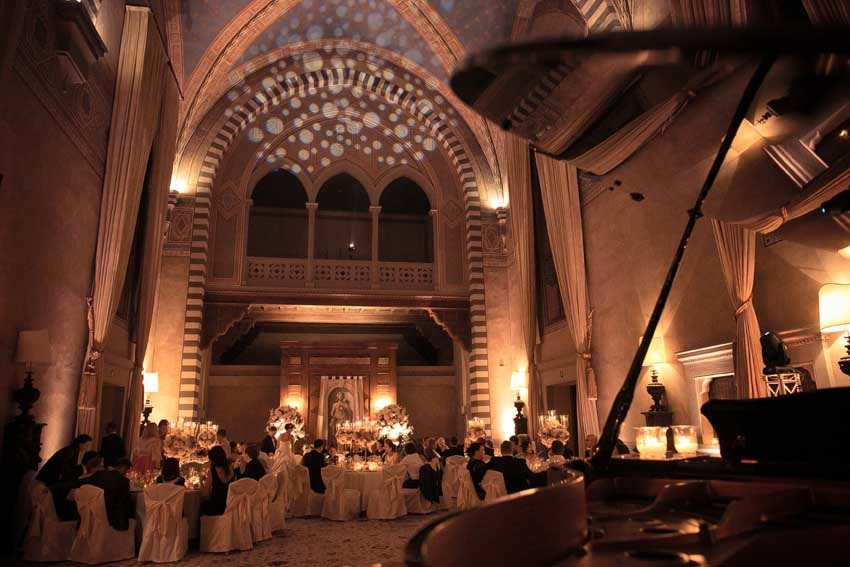 Wedding reception at Four Seasons Hotel Florence