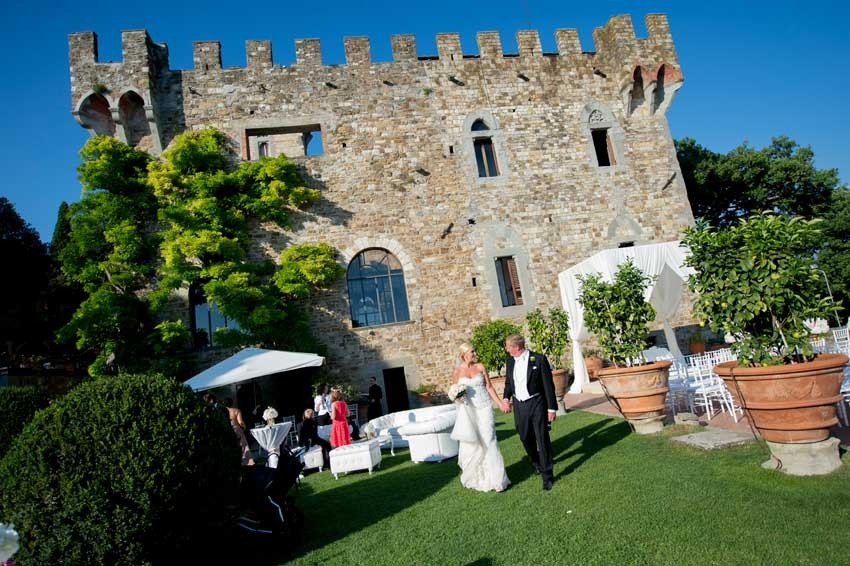 Wedding at Vincigliata Castle in Florence