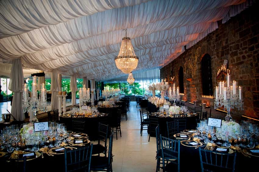 Wedding reception at Vincigliata Castle in Florence