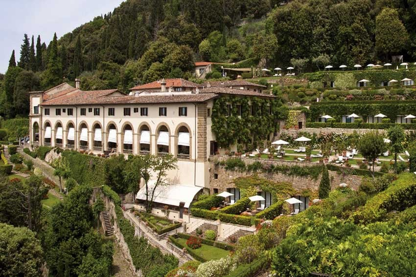 Villa San Michele for destination weddings in Florence