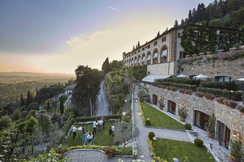Villa San Michele, venue for destination weddings in Florence