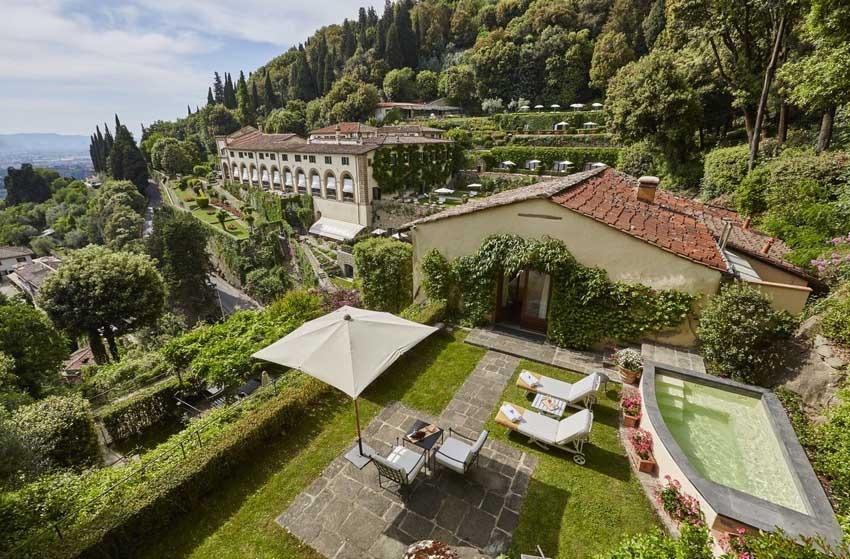 Villa San Michele, venue for destination weddings in Florence