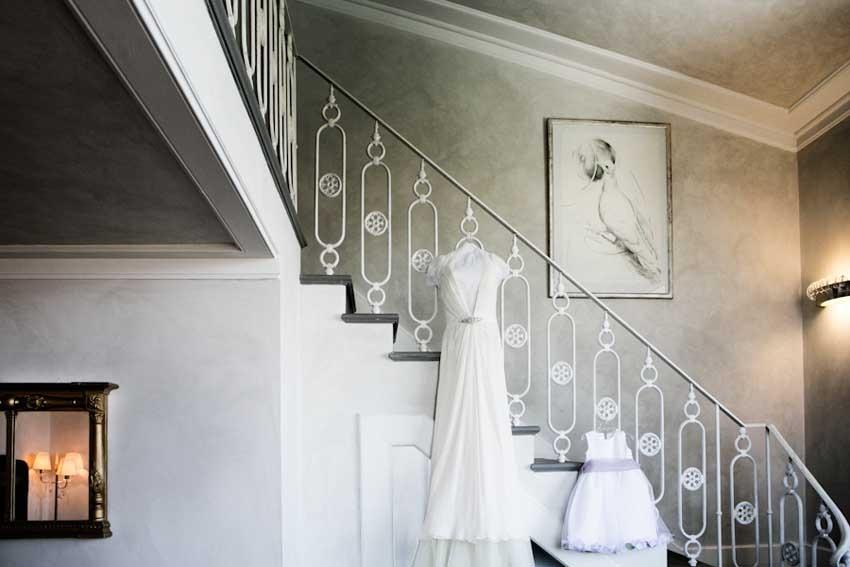 Florence wedding in elegant villa