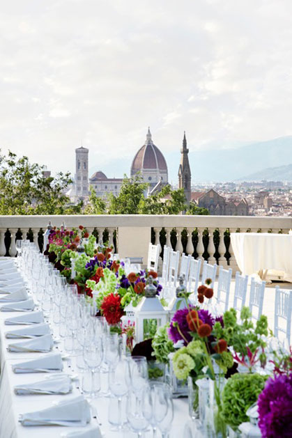 Wedding in Florence Villa