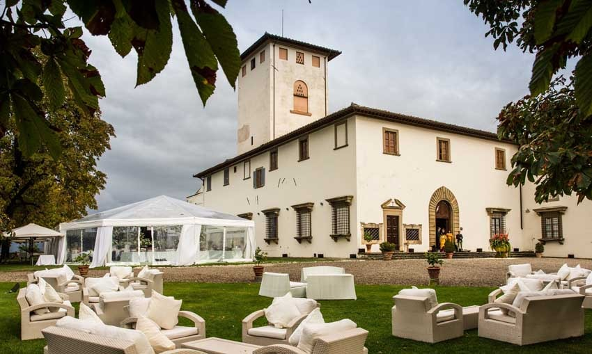 Villa Corsini for weddings in the countryside near Florence