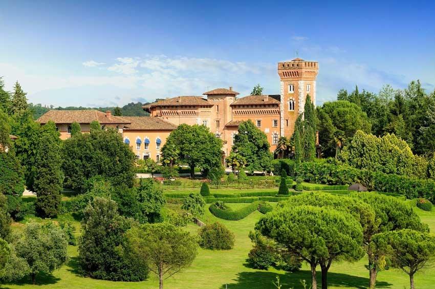 Castello di Spessa in Friuli, northern Italy