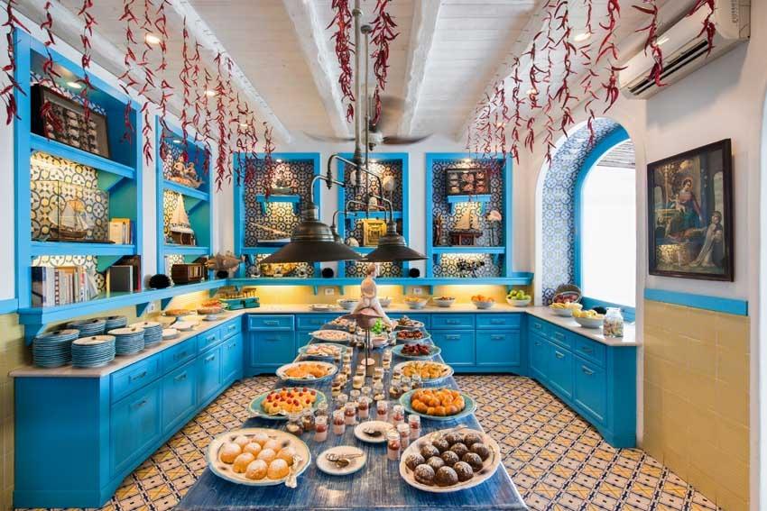 Mediterranean restaurant for Capri weddings