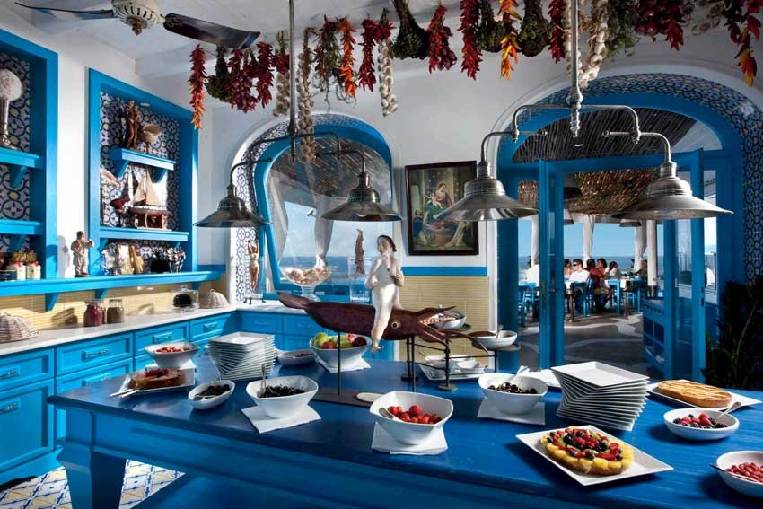 Mediterranean cuisine for weddings in Capri