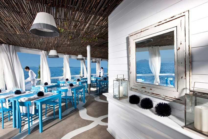 Panoramic hotel for wedding receptions in Capri