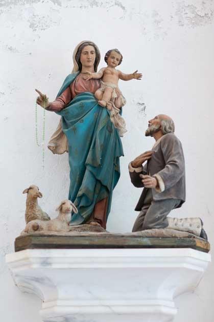 Church for catholic weddings in Portofino on the Riviera