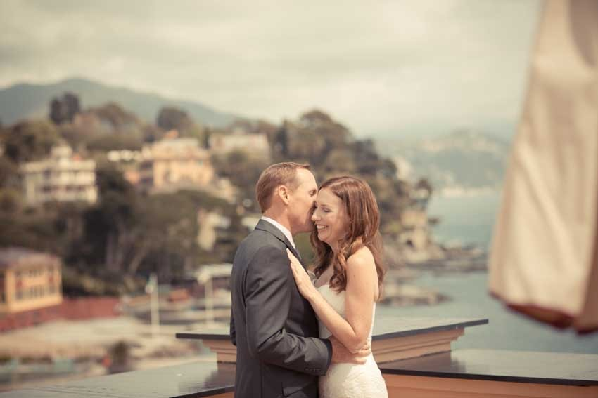 Wedding in Santa Margherita on the Italian Riviera