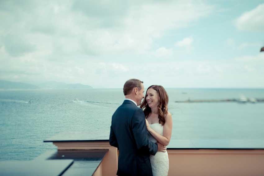 Wedding in Santa Margherita on the Italian Riviera