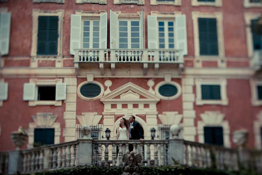 Civil wedding on the Italian Riviera in Santa Margherita Ligure