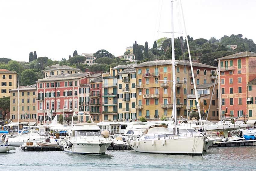 Santa Margherita Ligure on the Italian Riviera