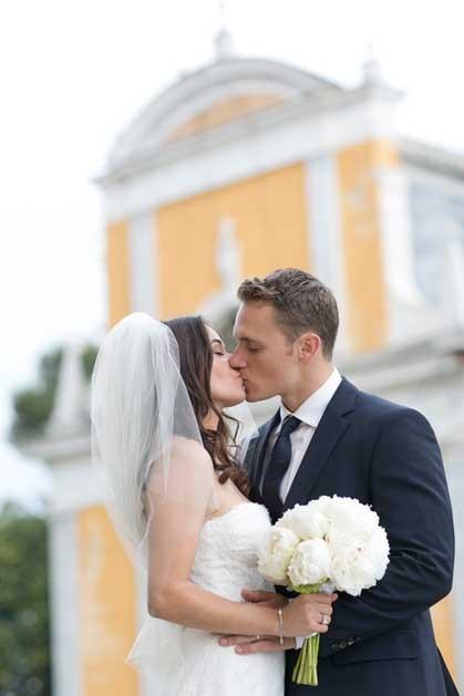 Destination wedding in Portofino on the Italian Riviera
