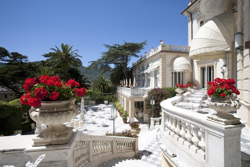 Imperiale Hotel for wedding receptions in Santa Margherita on the Italian Riviera