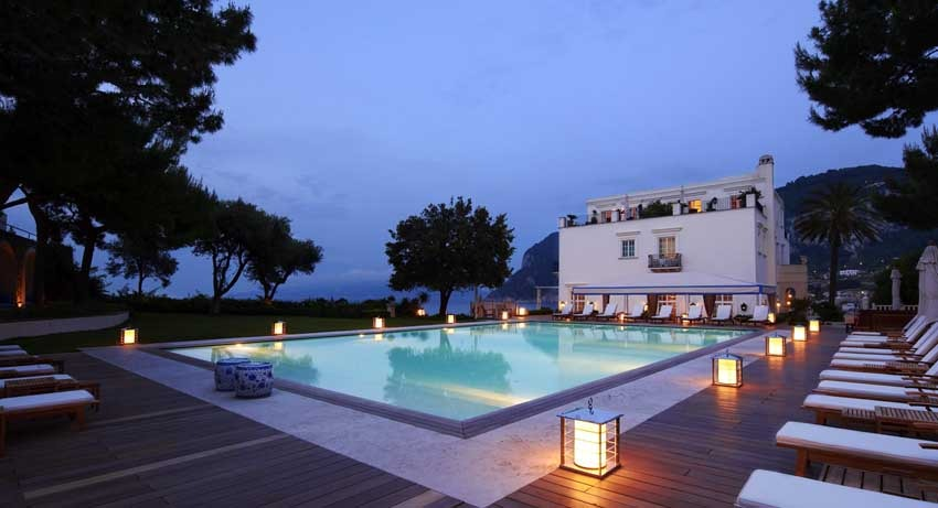 JK Place luxury hotel for Capri weddings