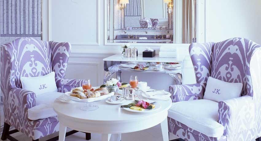 Breakfast at JK Place luxury hotel for weddings in Capri