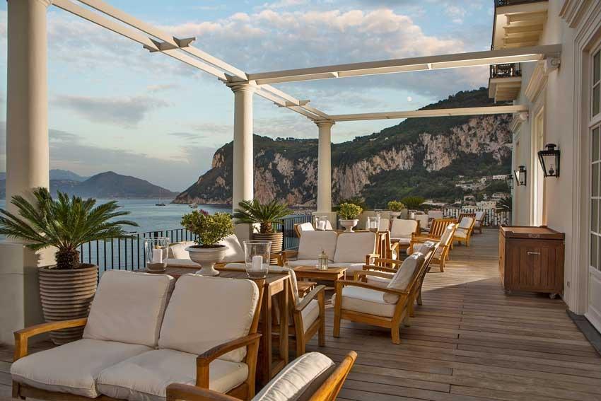 JK Place luxury hotel for weddings in Capri