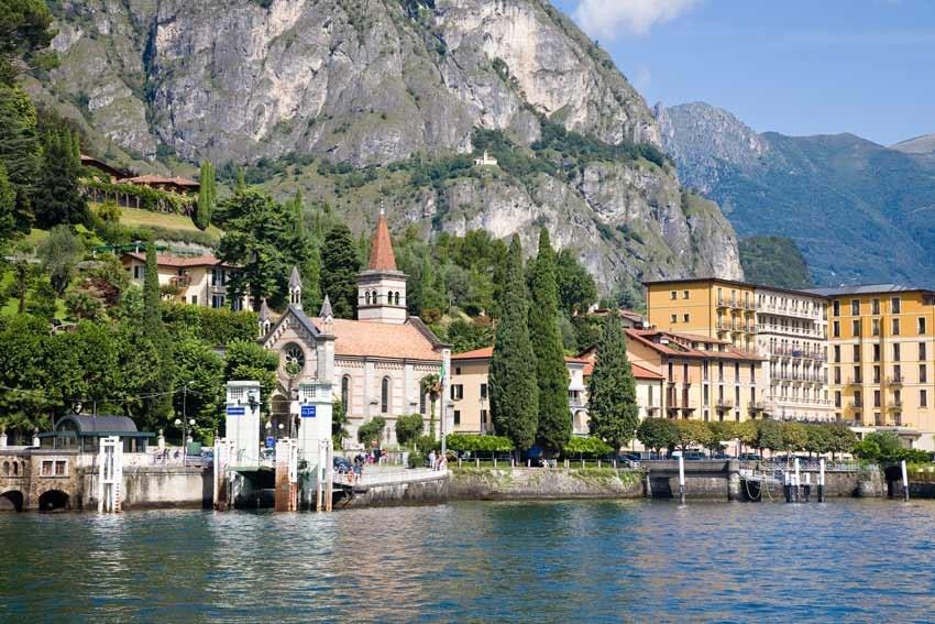 Anglican church on Lake Como