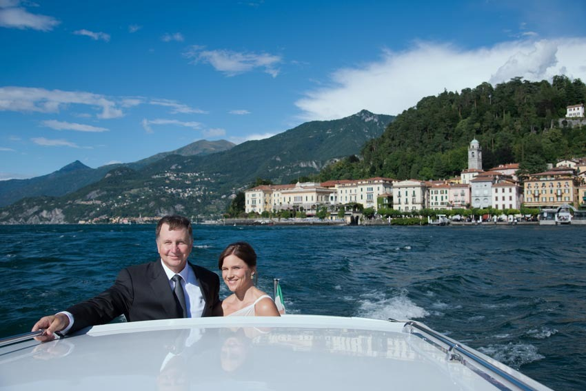 Civil wedding on Lake Como in Bellagio
