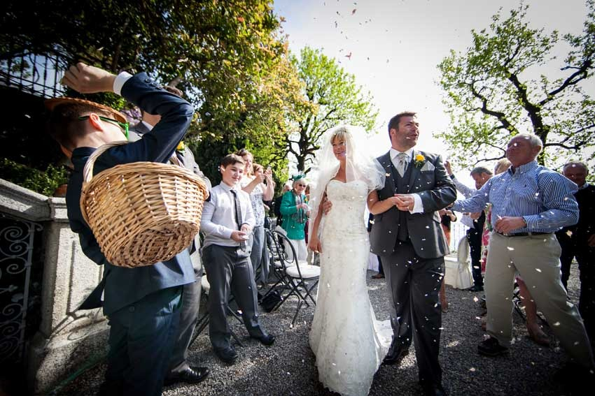 Civil wedding in Varenna on Lake Como