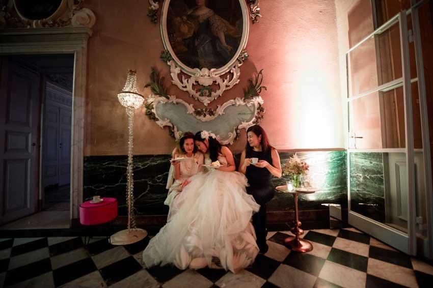 Destination wedding on Lake Como at Villa Pizzo