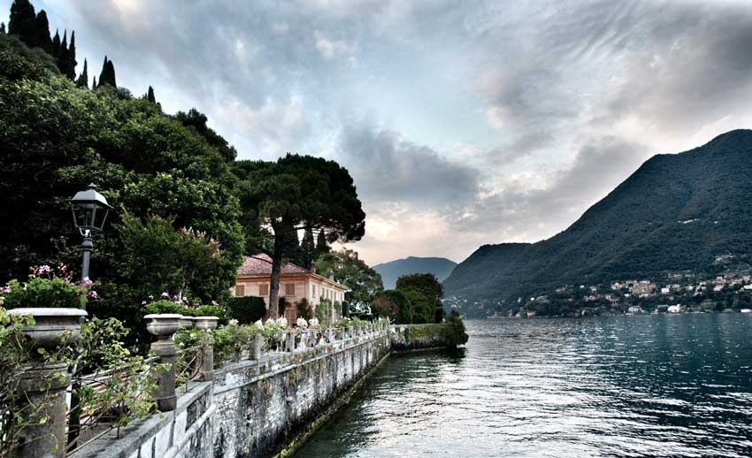 Villa Pizzo for destination weddings on Lake Como