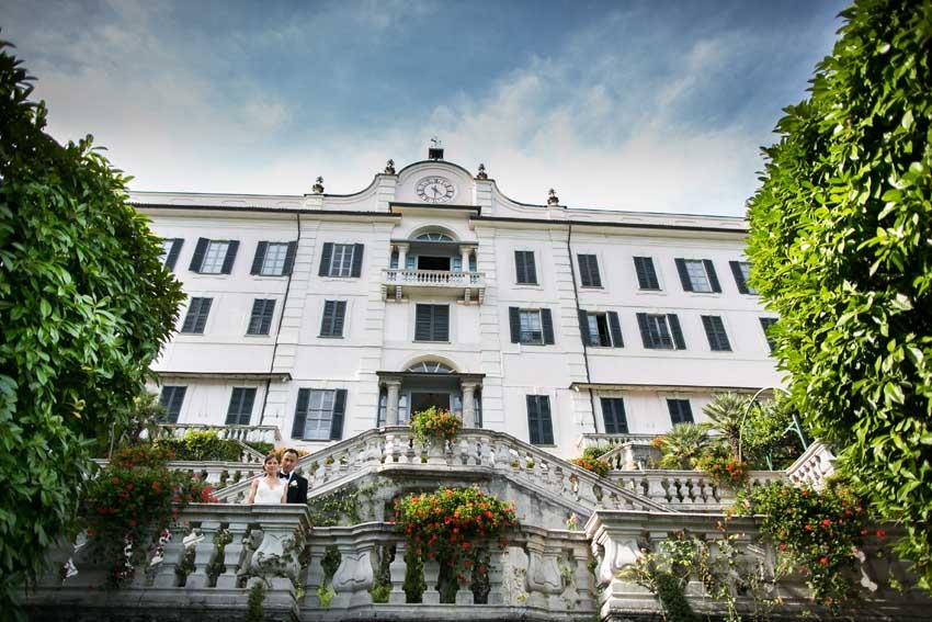 Destination wedding in Italy on Lake Como