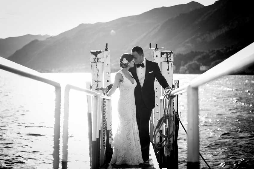 Destination wedding in Italy on Lake Como