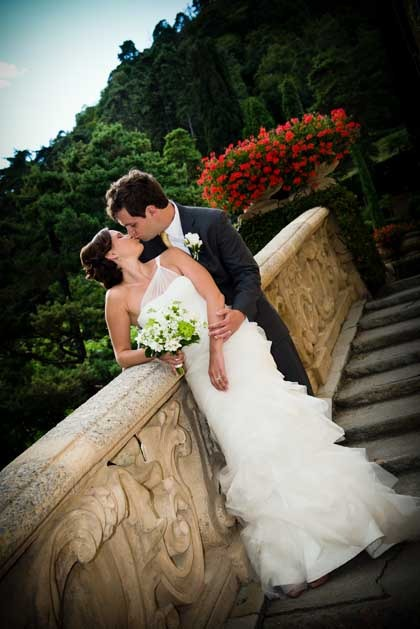 Villa del Balbianello for destination weddings on Lake Como