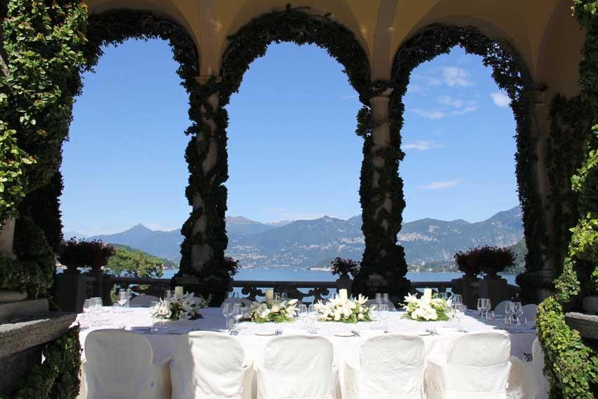 Wedding Reception At Villa Del Balbianello On Lake Como