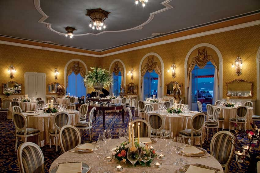 Hall Of Grand Hotel Tremezzo For Wedding Receptions On Lake Como